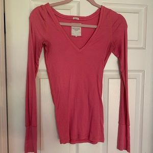 Gilly Hicks Pink Long Sleeve